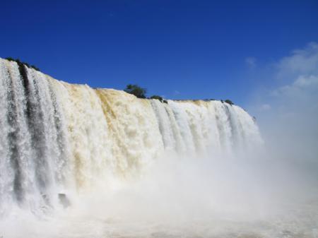Wasserfall in Foz do Iguacu