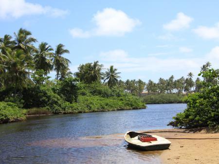 Imbassai-Fluss in Bahia