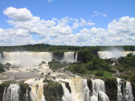 Wasserfälle in Foz do Iguacu