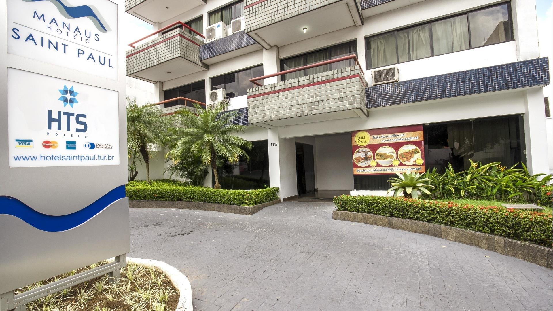 Brasilien Manaus: Standard Hotel - Hotel Saint Paul