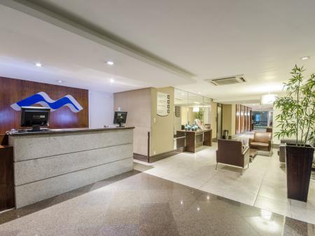 Hotel Saint Paul Rezeption