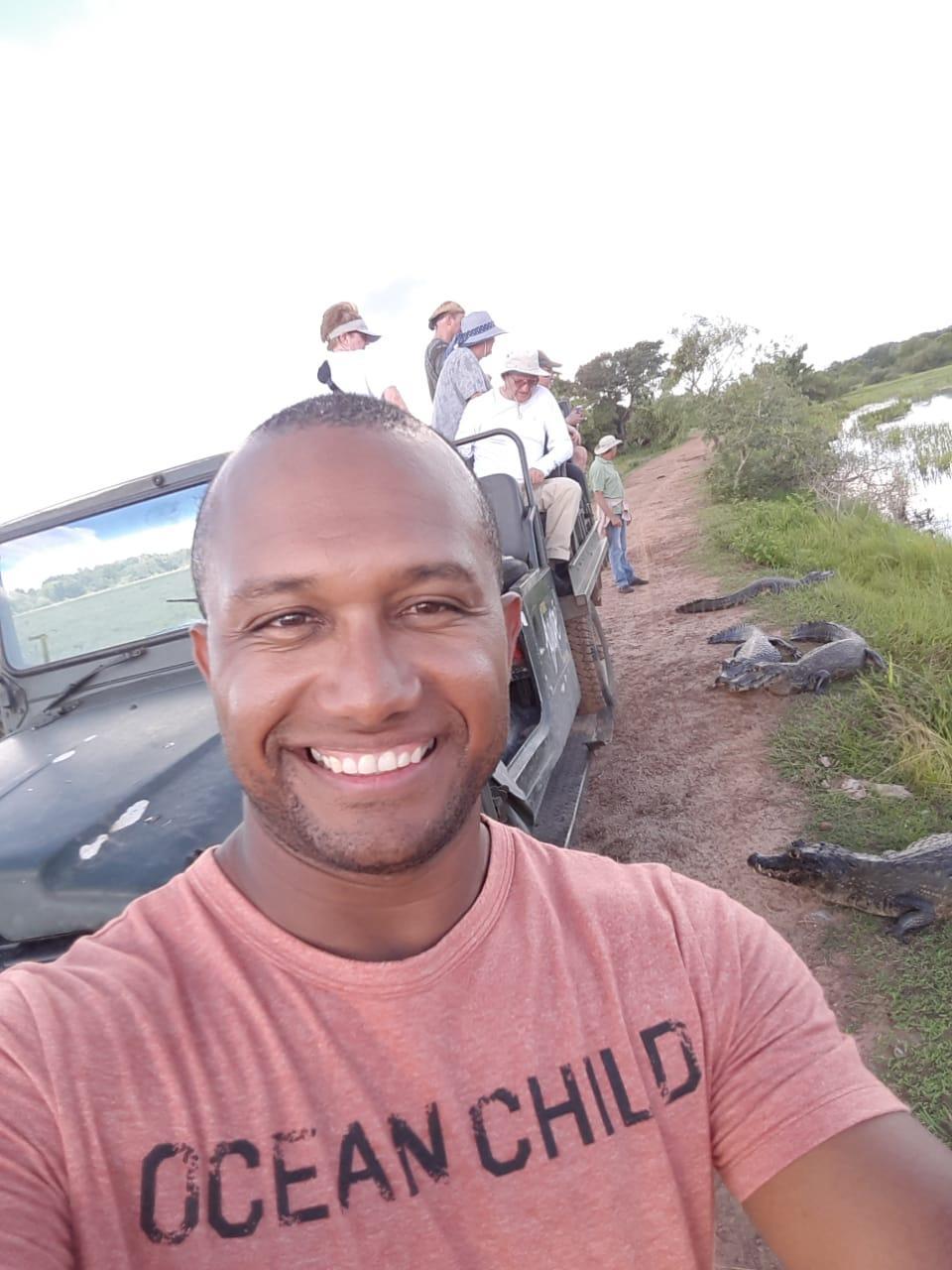 Guide Edemir im Pantanal und Bonito