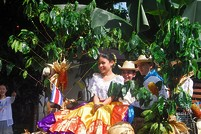 Traditionelles Fest in Costa Rica
