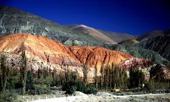 Reise Argentinien Bunte Berge in Nordargentinien