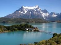 Trekking in den Bergen von Feuerland in Argentinien