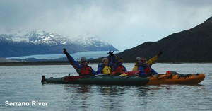 Urlaub in Chile Kayak Tour auf dem Rio Serrano
