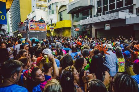 Trios eletricos in Brasilien