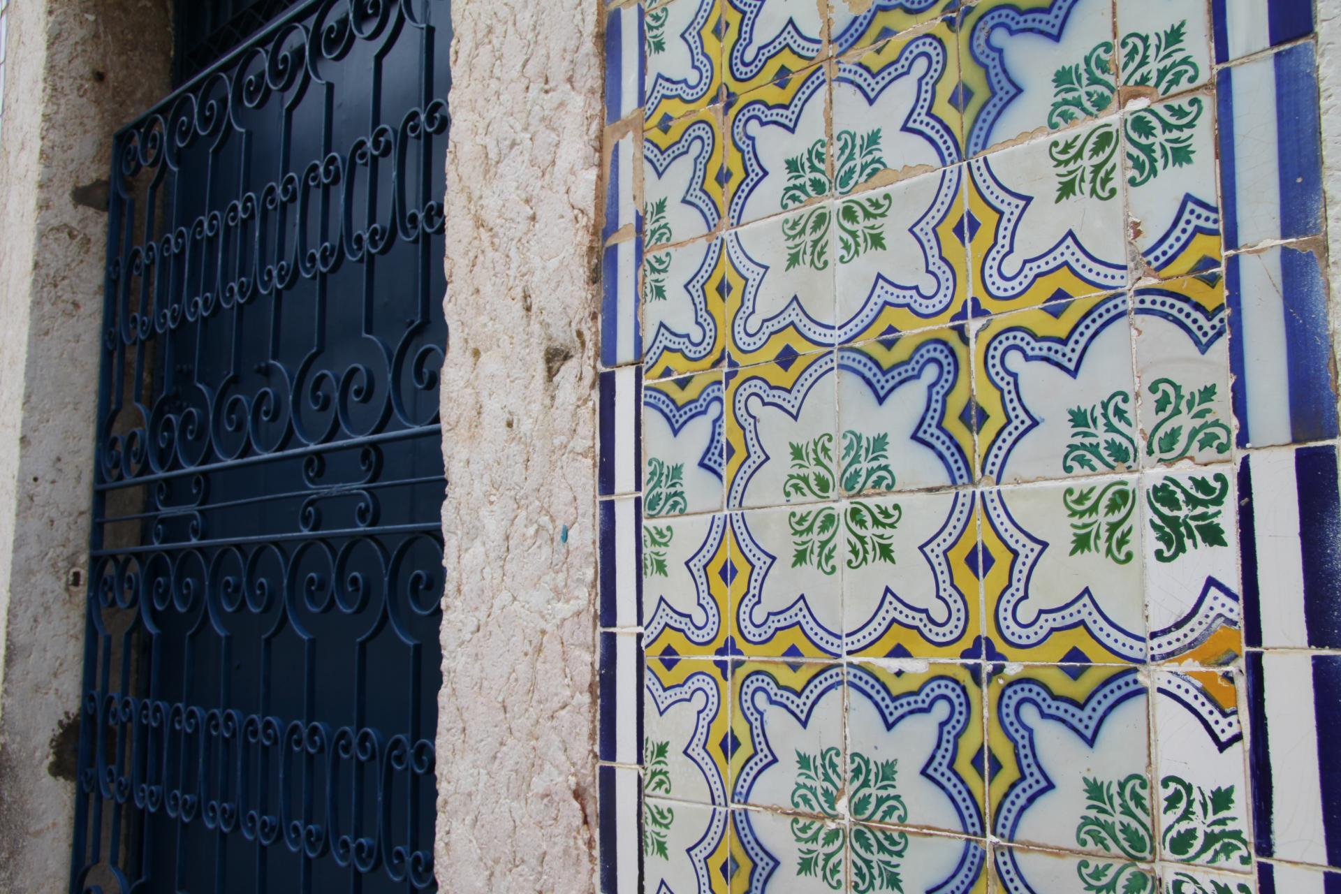 Azulejos in Sao Luis