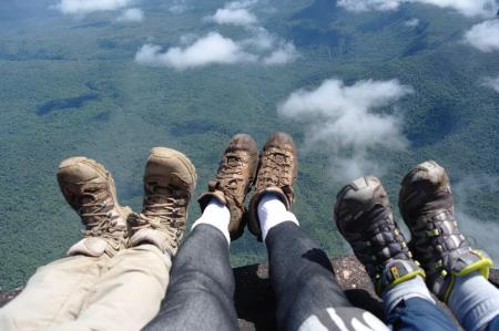 Aussicht vom Berg Roraima