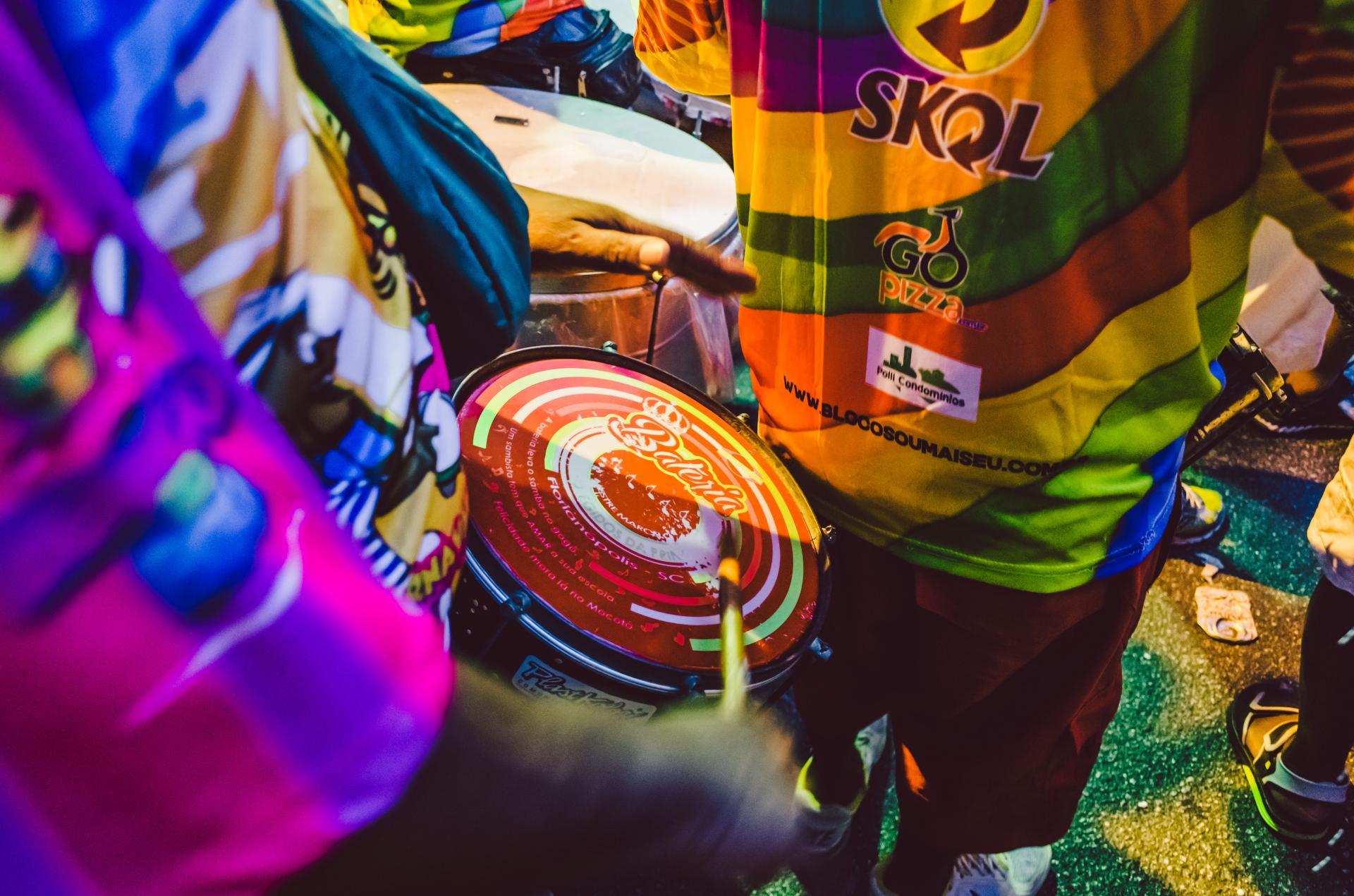 Karneval in Florianopolis mit Skol