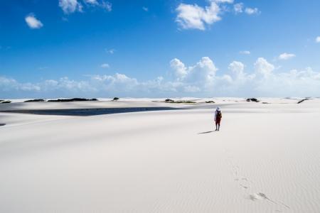 Sandwüste in den Lencois Maranhenses