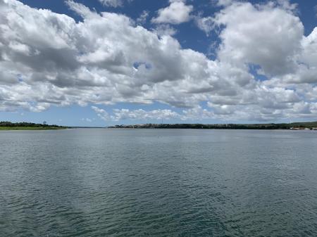 Mündung Rio Sao Francisco in Sergipe