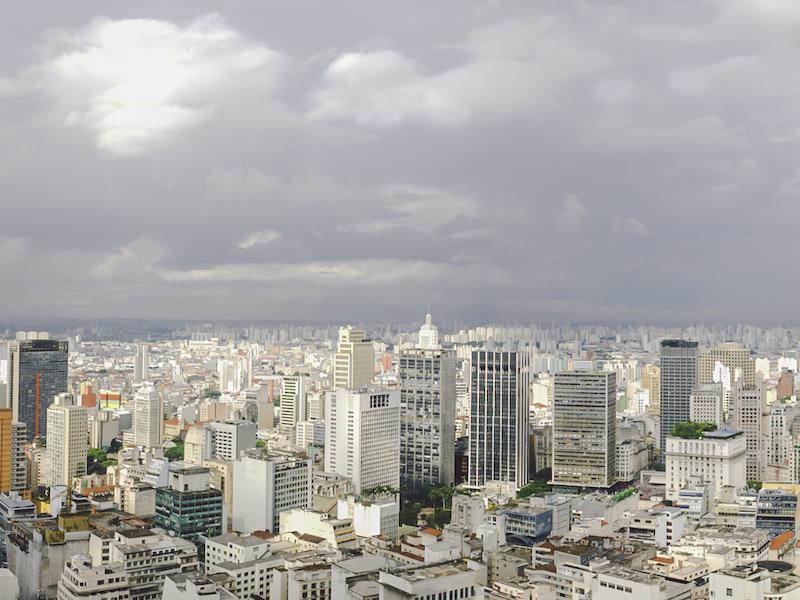Panorama von Sao Paulo