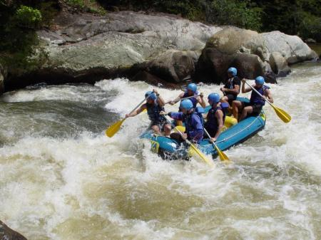 Rafting Tour in Santa Catarina