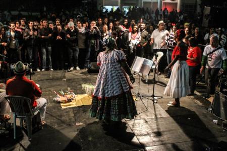 Eine Samba de Roda Veranstaltung von Nega Duda