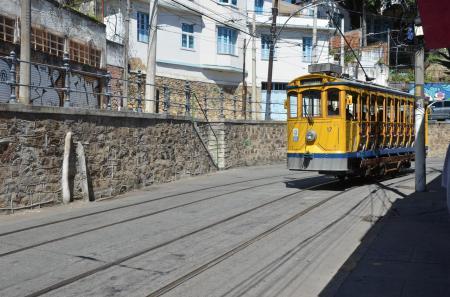 Straßenbahn in Santa Teresa in Rio