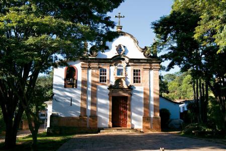 Die Kolonialstadt Tiradentes im Landesinneren von Minas Gerais