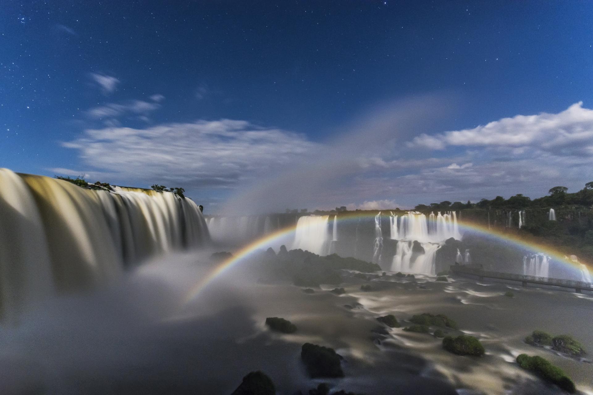 Die imposanten Wasserfaelle von Foz do Iguacu