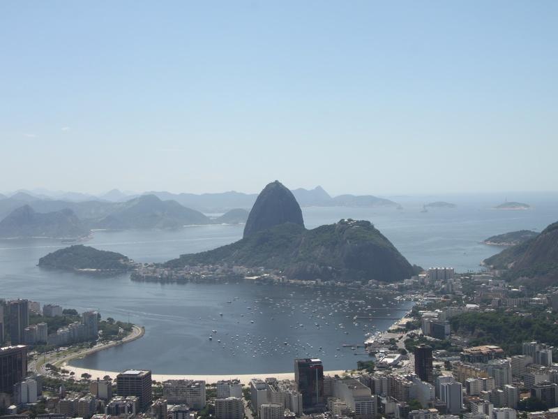 Wahrzeichen Brasiliens: der Zuckerhut in Rio de Janeiro