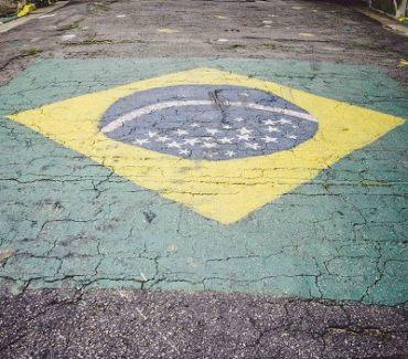 Brasilien Flagge Unabhängigkeit