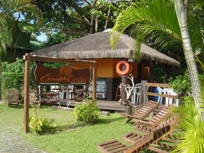 Gartenhaus auf der Ilha do Mel
