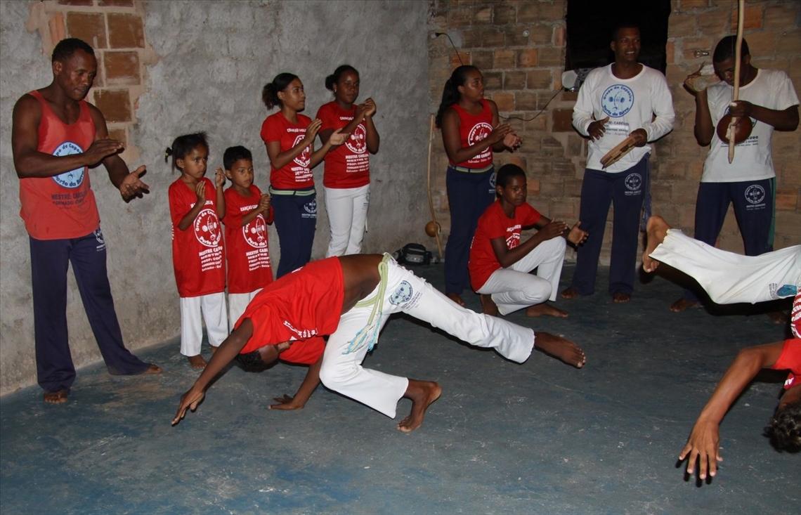 Capoeira in Imbassai