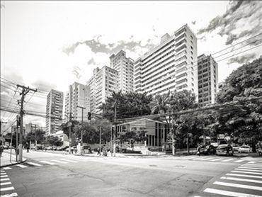 Straßenszene in Sao Paulo