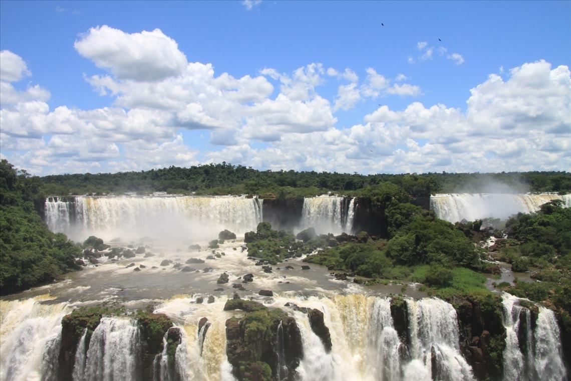 Der Wasserfall von Iguacu