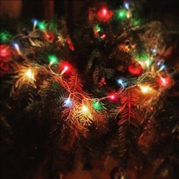 Weihnachtliche Beleuchtung