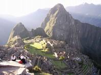 Machu Picchu: Die alte Stadt der Inkas in den Anden von Peru