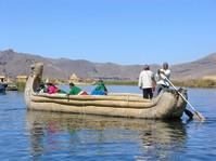 Boot Tour auf dem Titicaca See in Peru