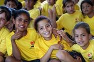 Glückliche Kinder in Brasilien