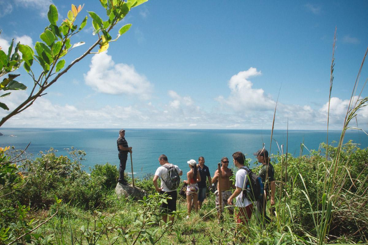 Mitglieder vom Ökoprojekt Salve Floripa