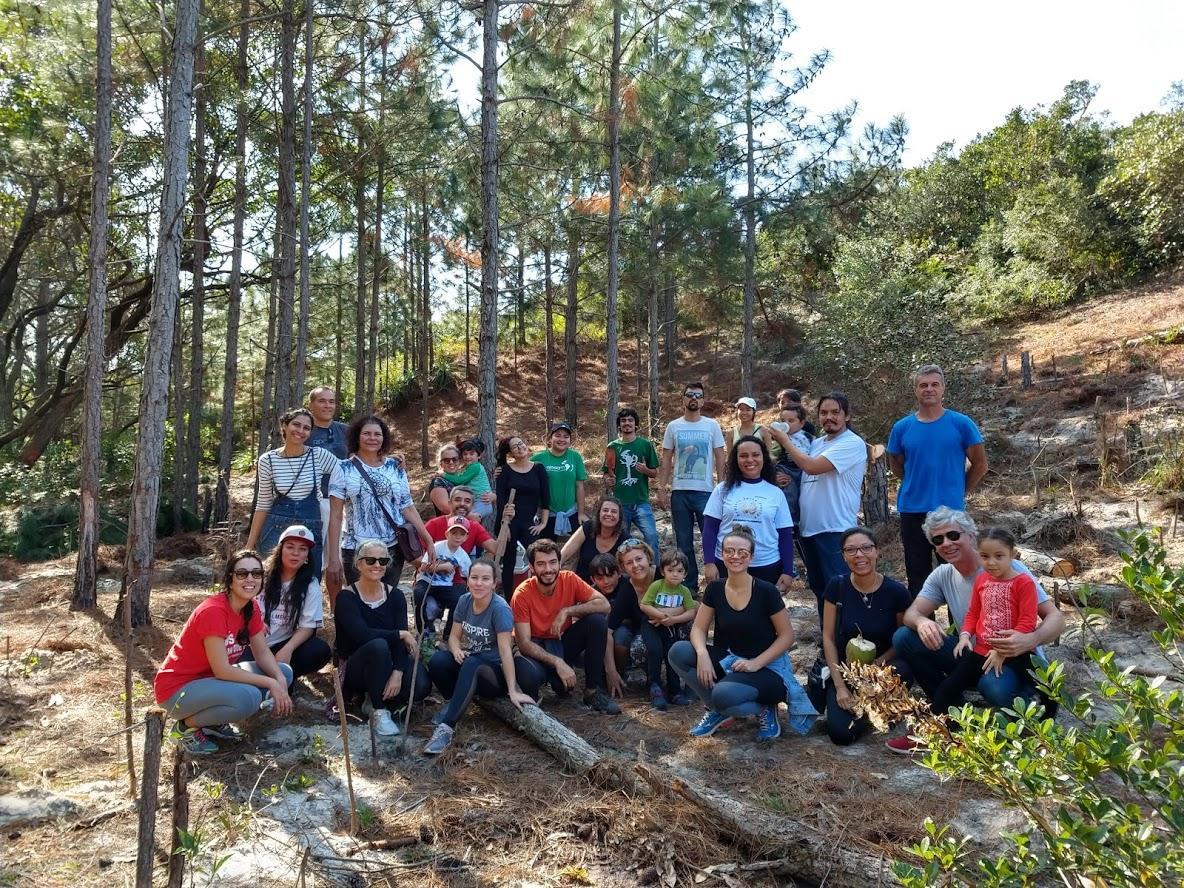 Gruppenfoto von Aktivisten von Salve Floripa