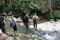 Brasilien Urlauber in der Natur