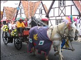 Parade zum Oktoberfest in Blumenau