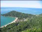 Grüne Küste in Santa Catarina