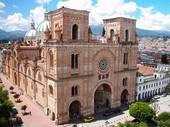 Kathedrale in Quito der Hauptstadt von Ecuador