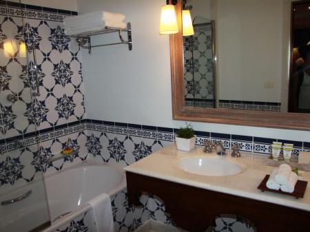 Belmond Hotel das Cataratas Zimmerbeispiel Bad
