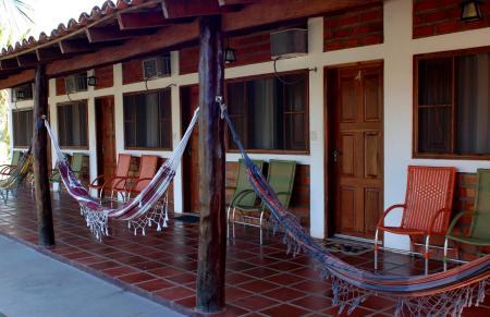 Gästeräume der Pousada Piuval