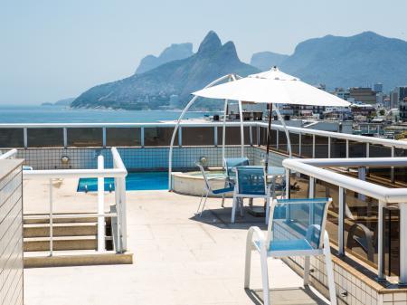 Hotel Atlantis Copacabana Pool auf der Dachterrasse