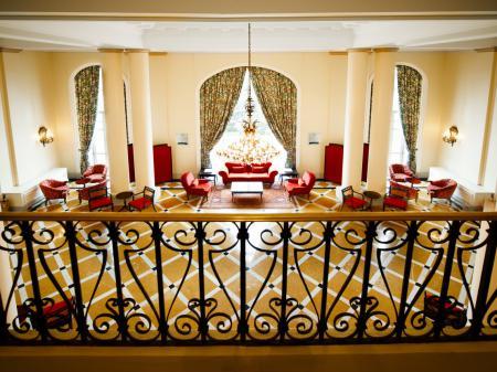 Hotel Copacabana Palace Aufenthaltsbereich