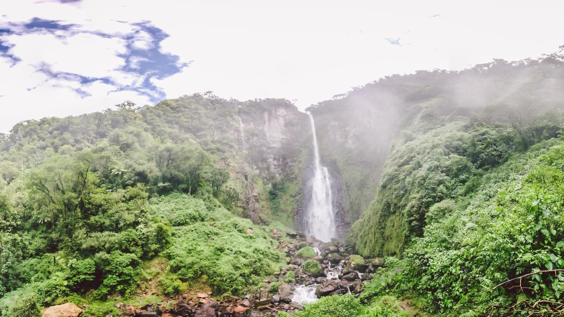 Brasilien Florianopolis bis Estaleiro: 2 Tage Reisebaustein - Wanderung und Camping im Atlantischen Regenwald