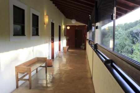 Pousada Casa da Lagoa Flur mit Ausblick