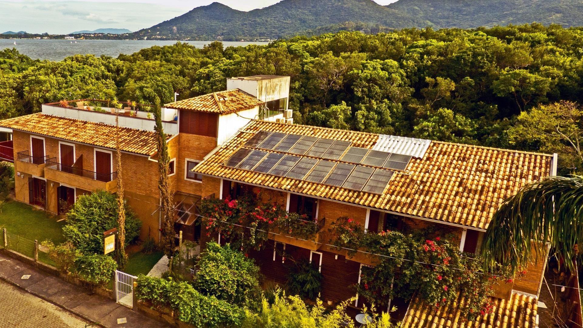 Brasilien Florianopolis: Landestypische Unterkunft - Pousada Casa da Lagoa
