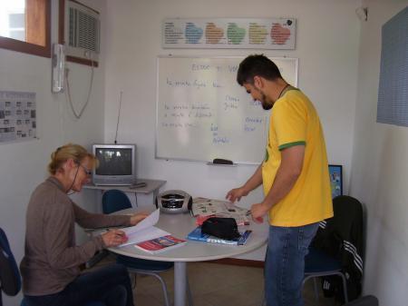 Einzelunterricht in der Sprachschule in Florianopolis