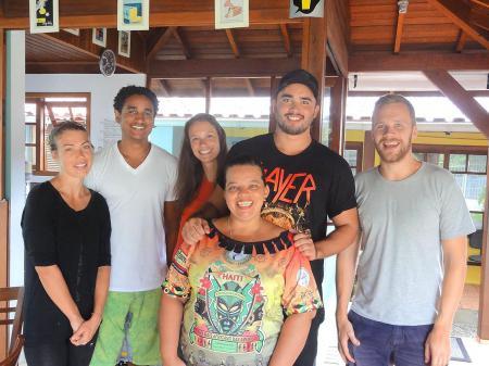 Team der Sprachschule in Florianopolis