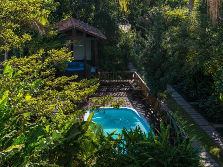 Pousada Natur Campeche Pool und Garten