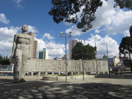Platz des 19. Dezember in Curitiba