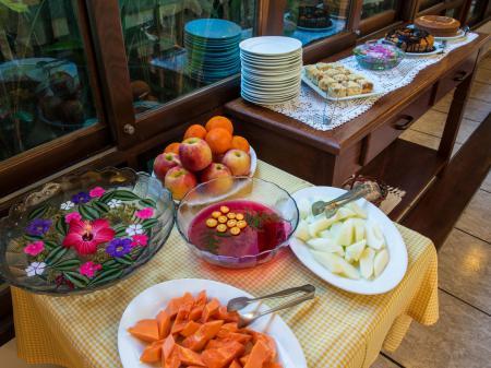 Hotel Natur Campeche Frühstücksbuffet